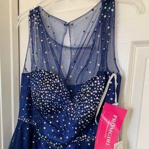 Dark blue Homecoming Dress